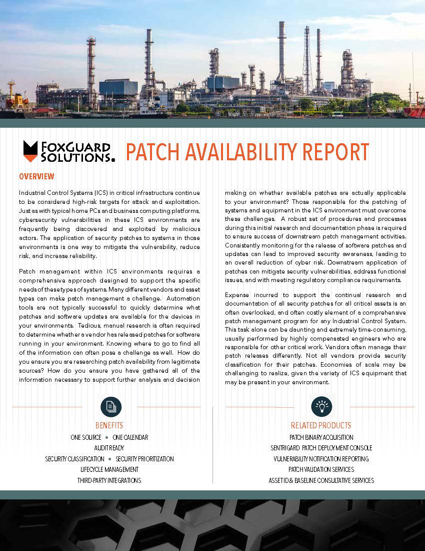 Patch Management Data Sheet PAR